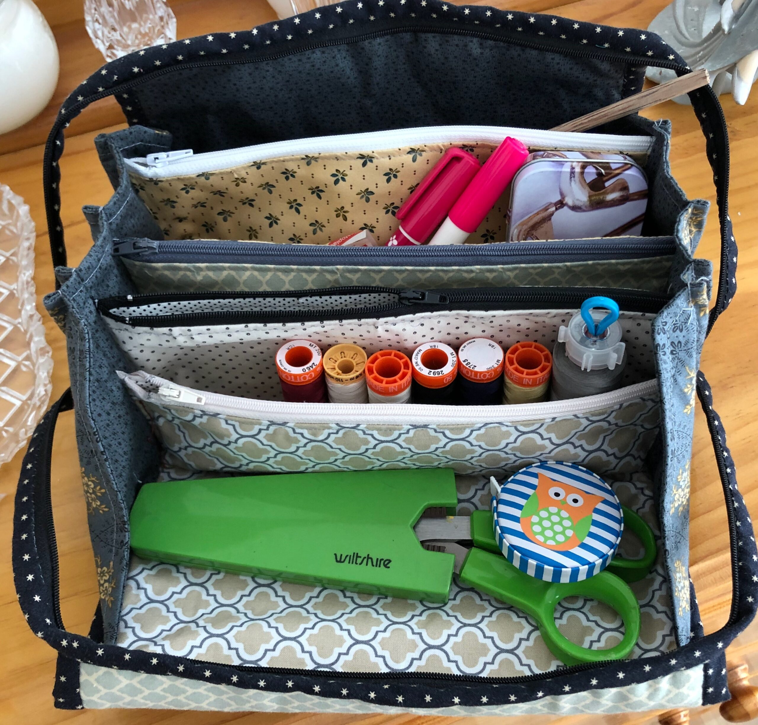 Multi-Zippered Pouch with Leonie Fraser 3 & 5 November 2020