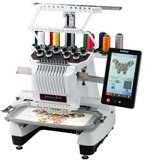 PR1050X - 10 Needle Embroidery Machine