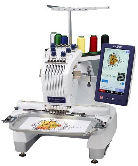 PR670E - 6 Needle Embroidery Machine